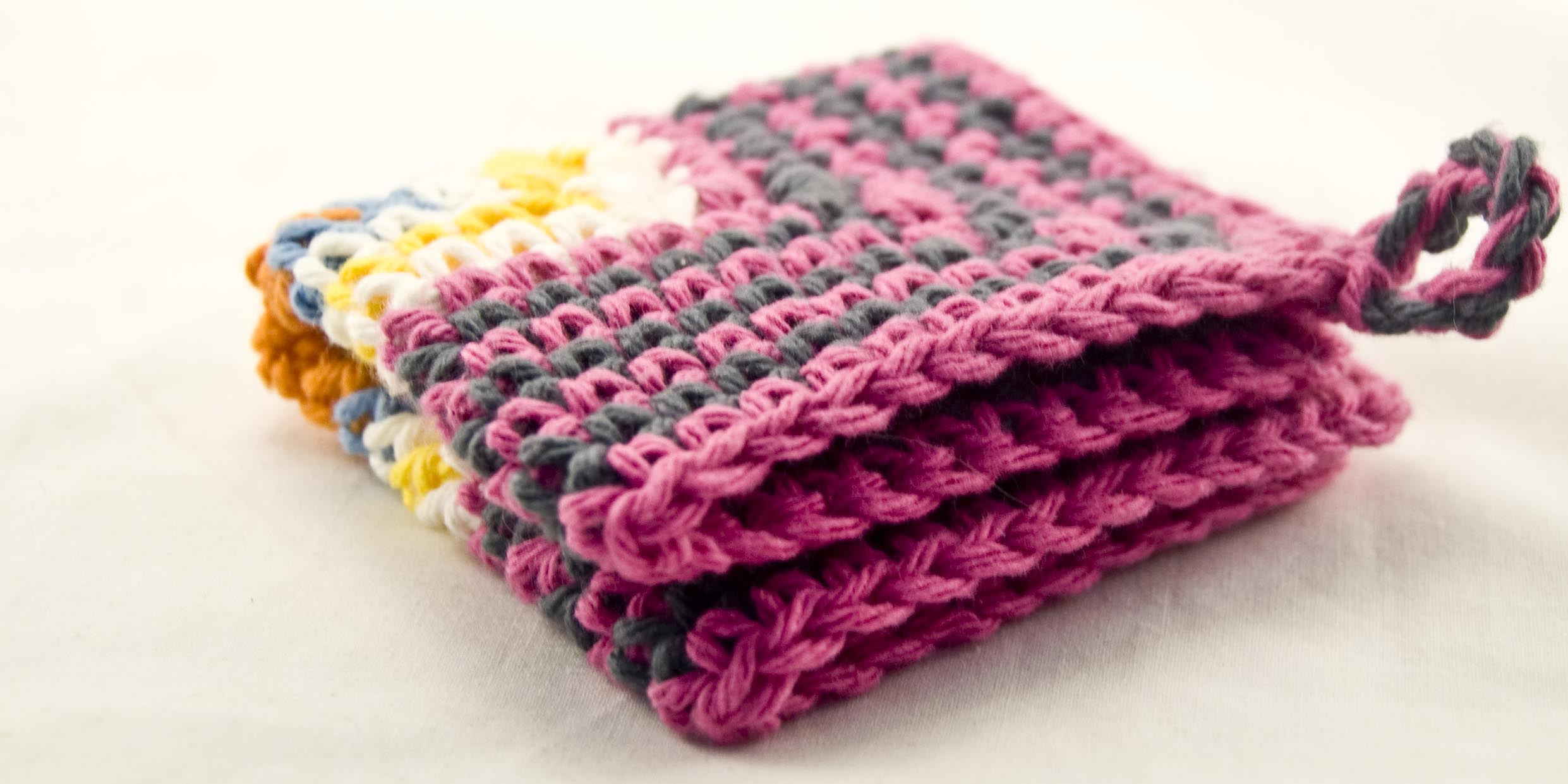 Crocheting Dishcloths : FREE CROCHETED DISH CLOTH PATTERN - Easy Crochet Patterns