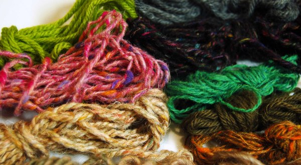 Yarn Yardage Leftovers: Crewel Embroidery