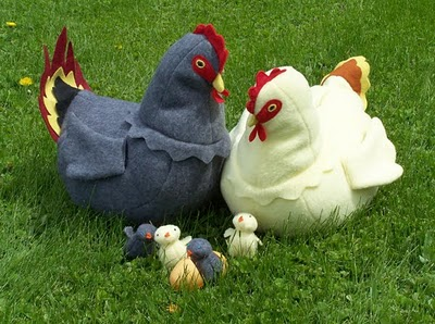 chicken-softie-family