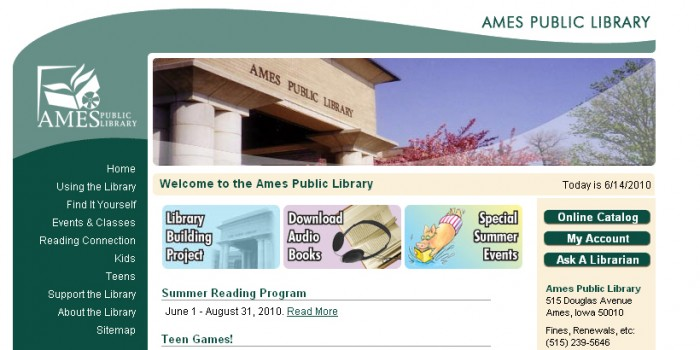 ameslibrary